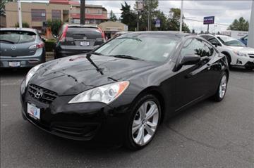2012 Hyundai Genesis Coupe for sale in Seattle, WA