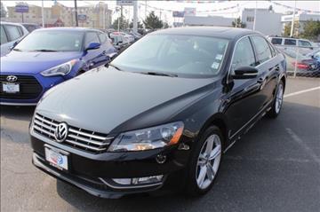 2015 Volkswagen Passat for sale in Seattle, WA