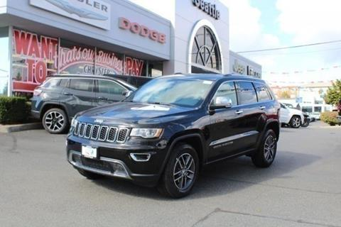 2018 Jeep Grand Cherokee for sale in Seattle, WA