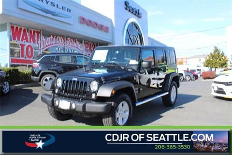 2017 Jeep Wrangler Unlimited for sale in Seattle, WA