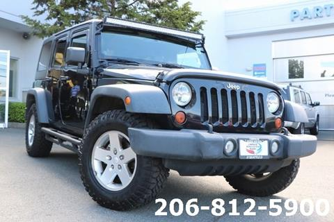 2012 Jeep Wrangler Unlimited for sale in Seattle, WA