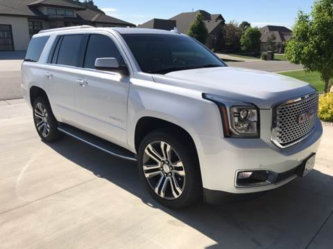 2017 GMC Yukon for sale at Quality Automotive Group Inc in Billings MT