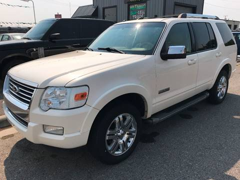 2008 Ford Explorer for sale at Quality Automotive Group Inc in Billings MT