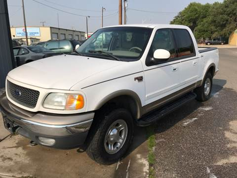 2001 Ford F-150 for sale at Quality Automotive Group Inc in Billings MT