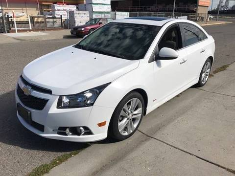 2012 Chevrolet Cruze for sale at Quality Automotive Group Inc in Billings MT