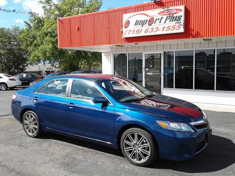 2011 Toyota Camry Hybrid for sale in Colorado Springs, CO