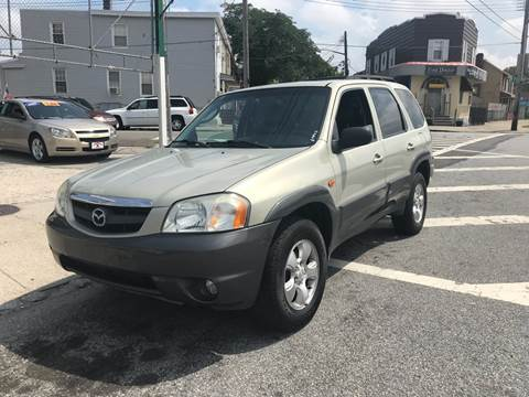 2003 Mazda Tribute for sale at Blackbull Auto Sales in Ozone Park NY