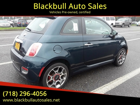 2013 FIAT 500 for sale at Blackbull Auto Sales in Ozone Park NY