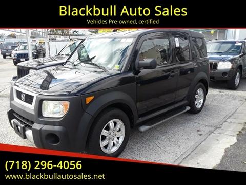 2006 Honda Element for sale at Blackbull Auto Sales in Ozone Park NY