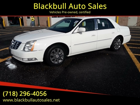 2007 Cadillac DTS for sale at Blackbull Auto Sales in Ozone Park NY