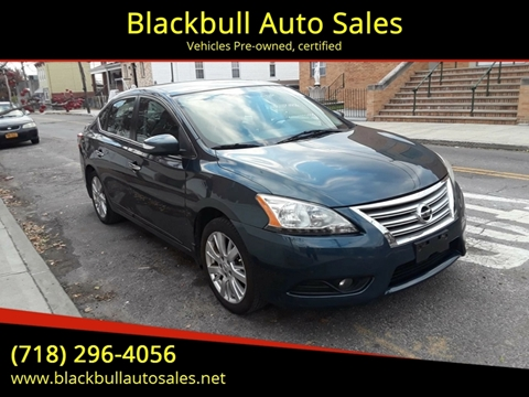 2014 Nissan Sentra for sale at Blackbull Auto Sales in Ozone Park NY