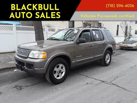 2002 Ford Explorer for sale at Blackbull Auto Sales in Ozone Park NY