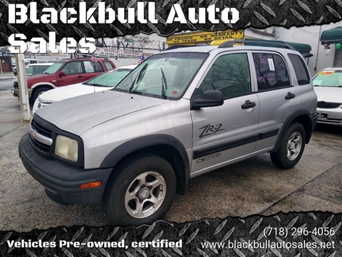 2003 Chevrolet Tracker for sale at Blackbull Auto Sales in Ozone Park NY