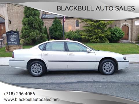 2004 Chevrolet Impala for sale at Blackbull Auto Sales in Ozone Park NY