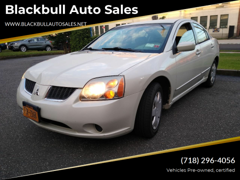 2005 Mitsubishi Galant for sale at Blackbull Auto Sales in Ozone Park NY