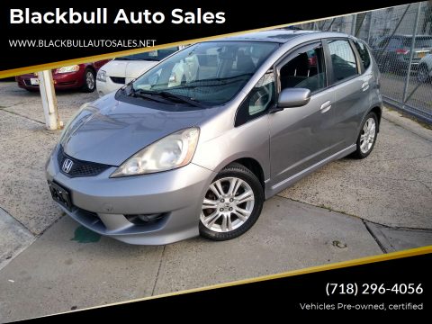 2010 Honda Fit for sale at Blackbull Auto Sales in Ozone Park NY