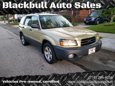 2004 Subaru Forester for sale at Blackbull Auto Sales in Ozone Park NY