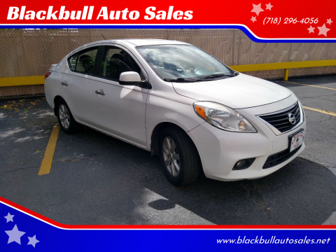 2013 Nissan Versa for sale at Blackbull Auto Sales in Ozone Park NY