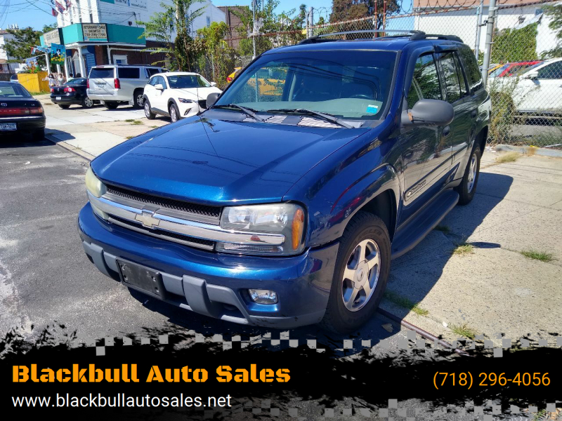 2003 Chevrolet TrailBlazer for sale at Blackbull Auto Sales in Ozone Park NY