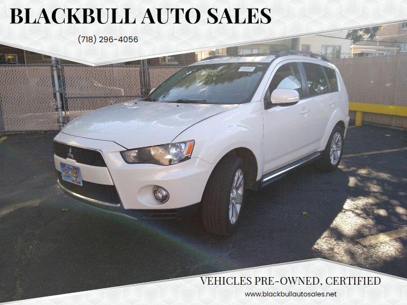 2012 Mitsubishi Outlander for sale at Blackbull Auto Sales in Ozone Park NY