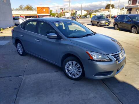 2014 Nissan Sentra for sale at Blackbull Auto Sales in Ozone Park NY