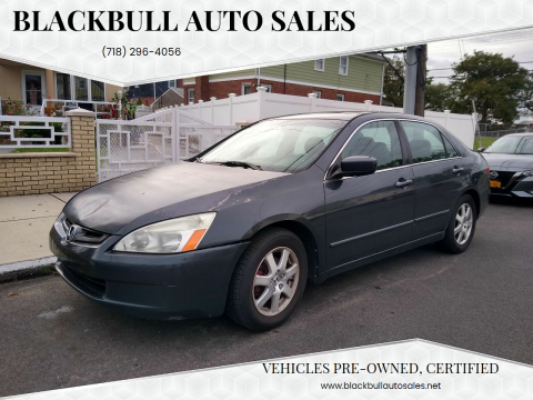 2005 Honda Accord for sale at Blackbull Auto Sales in Ozone Park NY