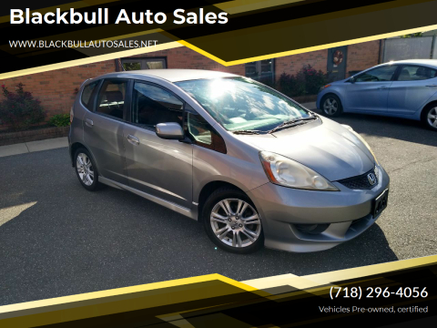 2009 Honda Fit for sale at Blackbull Auto Sales in Ozone Park NY