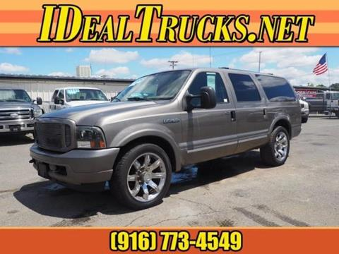2004 Ford Excursion for sale in Roseville, CA