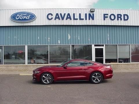 2016 Ford Mustang for sale in Pine City, MN
