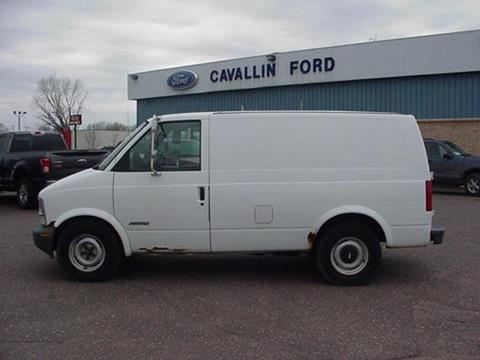 2000 Chevrolet Astro Cargo for sale in Pine City, MN