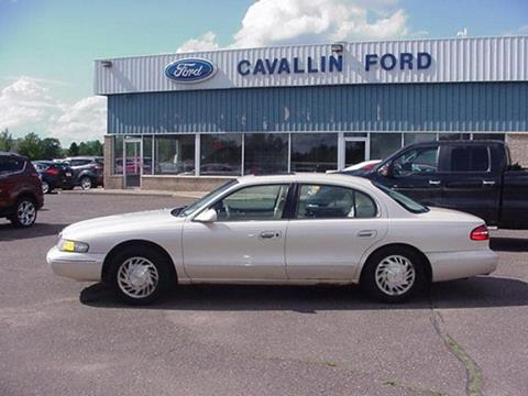 1997 Lincoln Continental for sale in Pine City MN