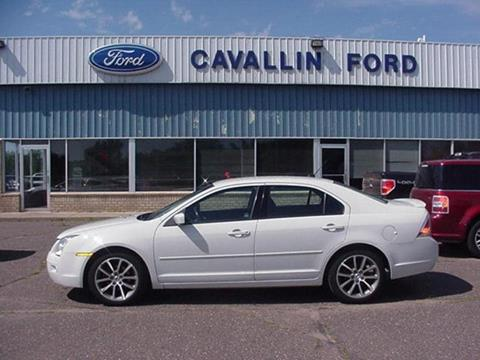 2009 Ford Fusion for sale in Pine City, MN