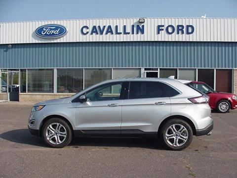 2017 Ford Edge for sale in Pine City, MN