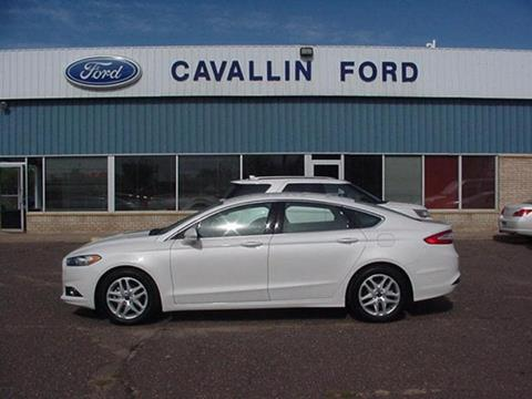 2016 Ford Fusion for sale in Pine City, MN
