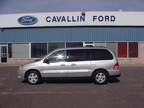2005 Ford Freestar for sale in Pine City, MN