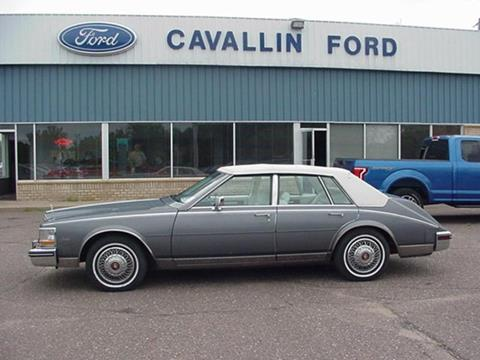 1985 Cadillac Seville For Sale In North Dakota Carsforsale Com