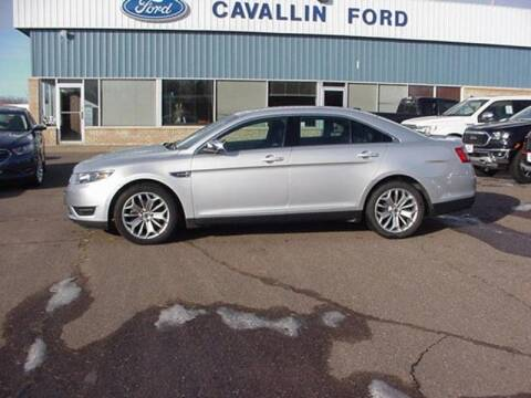 2017 Ford Taurus Limited for sale at Cavallin Ford in Pine City MN