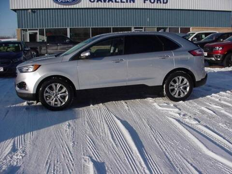 2019 Ford Edge Titanium for sale at Cavallin Ford in Pine City MN
