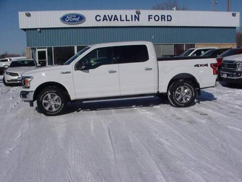 2018 Ford F-150 for sale at Cavallin Ford in Pine City MN