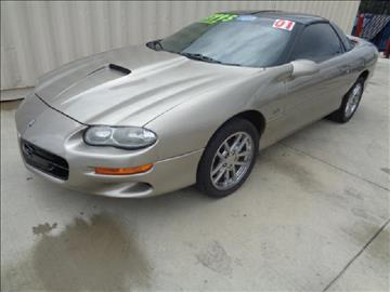 2001 Chevrolet Camaro for sale at Whitts Auto Sales in Houston TX