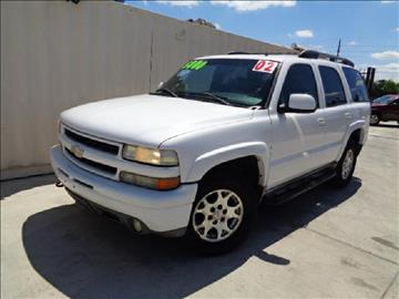 2002 Chevrolet Tahoe for sale at Whitts Auto Sales in Houston TX