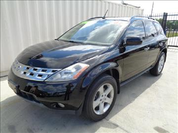 2005 Nissan Murano for sale at Whitts Auto Sales in Houston TX