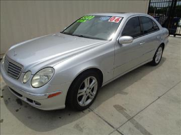 2006 Mercedes-Benz E-Class for sale at Whitts Auto Sales in Houston TX