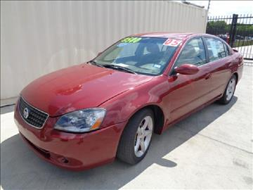2005 Nissan Altima for sale at Whitts Auto Sales in Houston TX