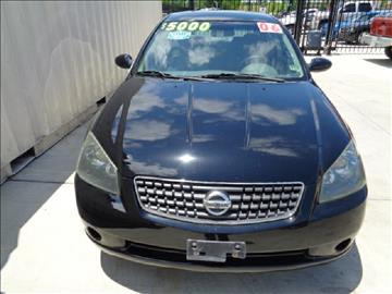 2006 Nissan Altima for sale at Whitts Auto Sales in Houston TX