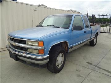 1996 Chevrolet C/K 1500 Series for sale at Whitts Auto Sales in Houston TX