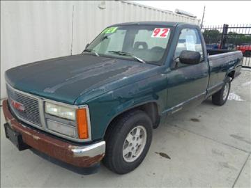 1992 GMC Sierra 1500 for sale at Whitts Auto Sales in Houston TX