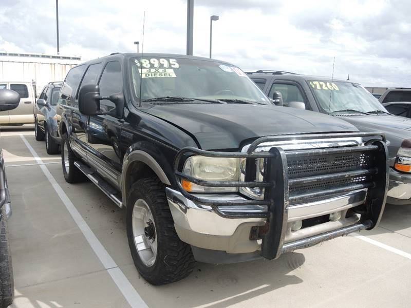 Ford Excursion Limited In Houston TX Whitts Auto Sales - 2002 excursion