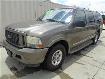 2003 Ford Excursion for sale at Whitts Auto Sales in Houston TX