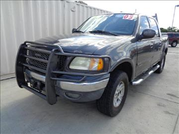 2003 Ford F-150 for sale at Whitts Auto Sales in Houston TX